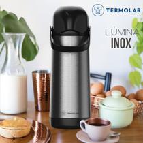 Garrafa Térmica 1 Litro Lúmina Inox Termolar Chá Café Leite -