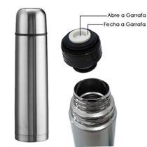Garrafa Termica 500 Ml Inox Inquebravel Cafe Agua Sucos - Livon