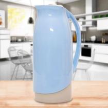Garrafa Termica azul 1 litro com tampa Sanremo  - Termic Celebrar -