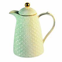 Garrafa Térmica de Porcelana Madri Creme - Decorafast Plus
