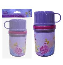 Garrafinha de Água Infantil Princesas T-Fresh 250ml - 102695 - Daiwa