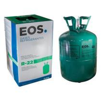 Gás Fluido Refrigerante R22 Botijão Refil Descartavel 13,6 K - GAS R 22