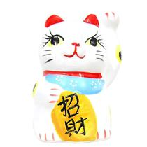 Gato da sorte Maneki-neko atrai sorte ceramica - Lg