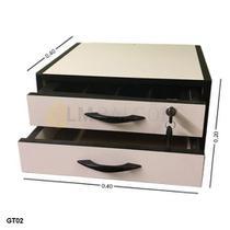 Gaveta Dinheiro Manual MDF - 0,40 x 0,20 x 0,40 com divisor de cedulas - Lm Balcoes