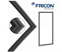 Gaxeta borracha freezer vertical fricon cv1p pc / vced 569 -