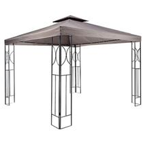 Gazebo Painel Duplo 300cmx300cm - Just Home Collection