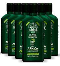 Gel Arnica De Massagem Muscular 6 X 240g - Ideal -