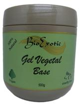 Gel Base Vegano Hidratante Neutro Facial e Corporal Bioexotic 500g -
