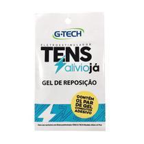 Gel Condutor Adesivo De Reposição Para Aparelho Eletroestimulador Tens Portátil Alívio Já - G-Tech - Accumed