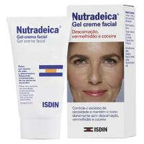 Gel creme facial isdin - nutradeica pele descamativa - 50ml -
