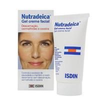 Gel Creme Facial Nutradeica Isdin Pele Descamativa com 50ml -
