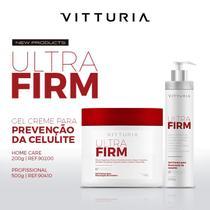 Gel Creme para Prevenir Celulite 500g Ultra Firm - Vitturia