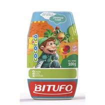 Gel Dental Bitufu Cocoricó sem Flúor Tutti Frutti 100g - Bitufo
