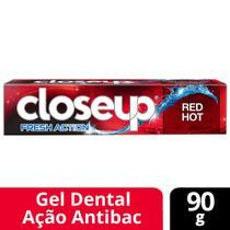 Gel Dental Closeup Ação Profunda Red Hot 90g -