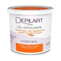 Gel Esfoliante Corporal Damasco 400g - Depilart -
