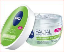 Gel Hidratante Facial Nivea Ácido Hialurôrico - e Pepino 100g -
