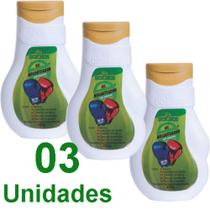 Gel Nocauteador Dokmos Original 200ml Massagem kit c/3 -