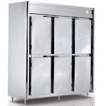 Geladeira Comercial 6 Portas em Inox Refrigel -
