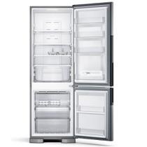 Geladeira Consul Frost Free Duplex 397 litros Evox com Freezer embaixo -