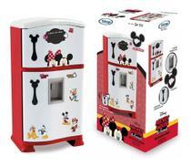 Geladeira Cozinha Infantil Mickey Minnie Refrigerador Disney - Xalingo