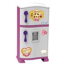 Geladeira De Brinquedo Menina Casinha + Acessórios Cozinha (194945) - Xalingo