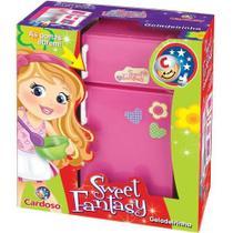 Geladeira de Brinquedo Sweet Fantasy Geladeirinha - 43757 - Cardoso
