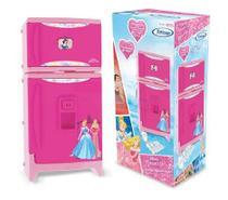 Geladeira Infantil Duplex com Som Princesas Disney - Xalingo