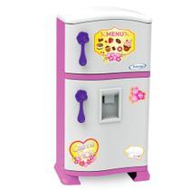 Geladeira Infantil Refrigerador Pop Casinha Flor - Xalingo -