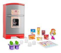 Geladeira infantil sweet fantasy geladeira sonho de menina - Cardoso Toys