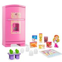 Geladeira infantil sweet fantasy rosa - Cardoso Toys