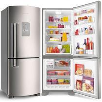 Geladeira Refrigerador Brastemp 422 Litros 2 Portas Frost Free Inverse - BRE50NRBNA -