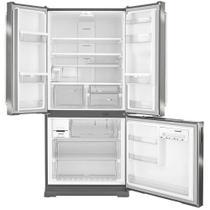 Geladeira/Refrigerador Brastemp Frost Free 3 Portas Side By Side Inverse BRO80 540 Litros Platinum -