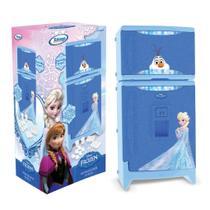 Geladeira Refrigerador Infantil Duplex C/ Som Frozen Xalingo -