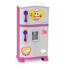 Geladeira Refrigerador Infantil Pop Casinha Flor - Xalingo