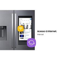 Geladeira/Refrigerador Samsung, 614 Litros, RF27T5501SG, 3 Portas Frost Free, Inox -
