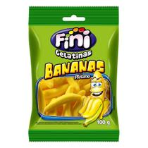 Gelatina Bananas 100g - Fini