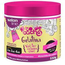 Gelatina Capilar Salon Line Vai Ter Volume Sim To de Cachos 550g -
