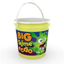 Geleca Big Slime Ecão - Balde com 400 g - Verde - DTC -