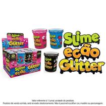 Geleca Slime Ecão com Glitter - Sortido - DTC -