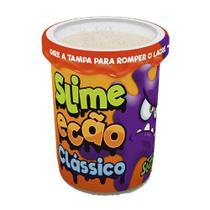 Geleca - Slime Ecão - Laranja Neon - DTC -