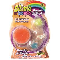 Geleca Slime Kit Mix - Arco-Íris de Alegria - Dtc -