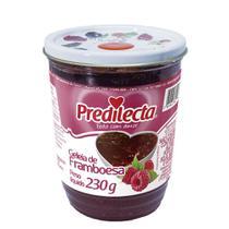 Geleia de Framboesa Vidro 230g Predilecta -
