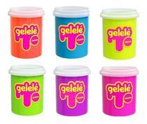 Gelelé Slime Pote Tradicional Unitário 152g Cores Sortidas - Doce Brinquedo