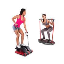 Genis Fitness Plataforma de Exercícios Transformer Full Body Station + Air Climber Power System Polishop -