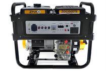 Gerador a Diesel ZG6300DTE 5.5KVA Trifásico 127V/220V Partida Elétrica Zmax -