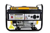 Gerador a Gasolina 4 Tempos ZG2800GM 2.5KVA 127V/220V Zmax -