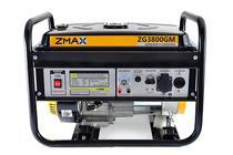 Gerador a Gasolina 4 Tempos ZG3800GM 3.5KVA 127V/220V Zmax -
