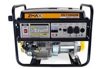 Gerador a Gasolina 4 Tempos ZG7200GM 6.5KVA Mono 127V/220V Partida Manual Zmax -