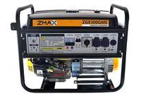 Gerador a Gasolina 4 Tempos ZG8300GME 8.0KVA Mono 127V/220V Partida Elétrica Zmax -