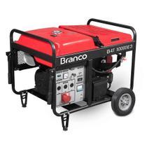 Gerador a Gasolina Partida Elétrica B4T10000E Trifásico 220V Branco -